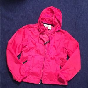 LL Bean Light Windbreaker With Hood Without Lining